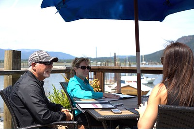 Cow Cafe West Coast Grill - Cowichan Bay, Vancouver Island, BC, Canada