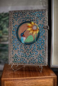 Margot Page - Enamelling on Steel - Duncan, Vancouver Island, BC, Canada
