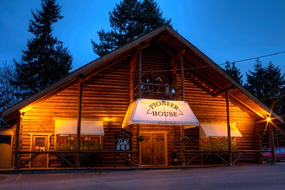 """Pioneer House Restaurant - Duncan, Cowichan Valley, Vancouver Island, BC, Canada Visit our blog """"A Sarsaparilla With Your Sweetheart"""" for the story behind the photo."""