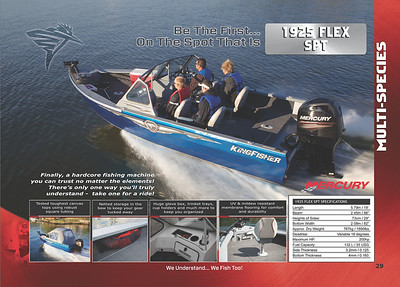 2013 Kingfisher Boats Catalogue