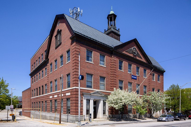 New England Telephone Company Building View 1