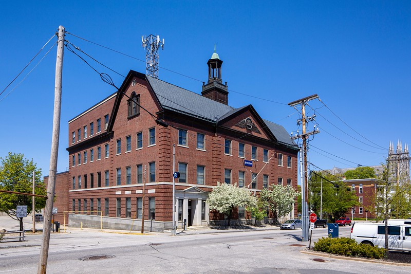 New England Telephone Company Building View 2