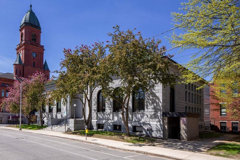 Lewiston Public Library View 1