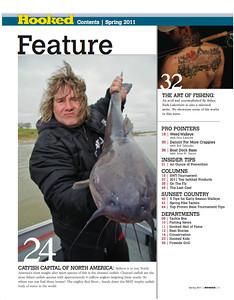 Hooked Magazine Spring 2011