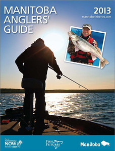 2013 Manitoba Anglers' Guide Cover