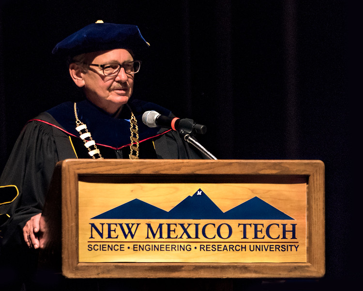 Dr.  Stephen Wells, President of New Mexico Tech
