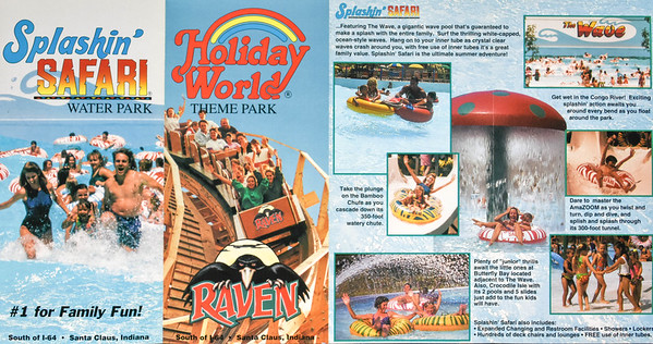 Holiday World photography for Brochures