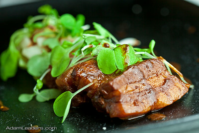 Beer miso braised pork belly wraps