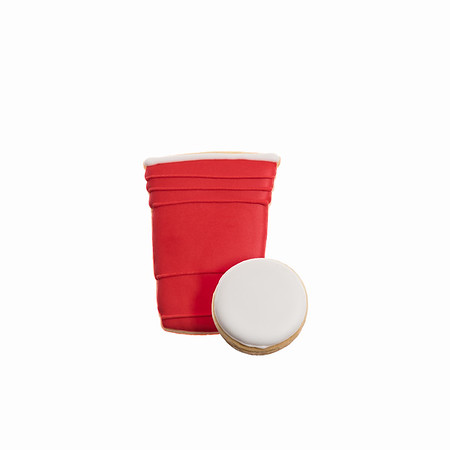Shemi Sweet Cookie Co Red Cup and Pong