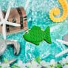Shemi Sweet Cookie Co Green Fish