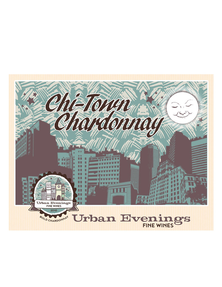 Samle label (client: Urban Evenings)