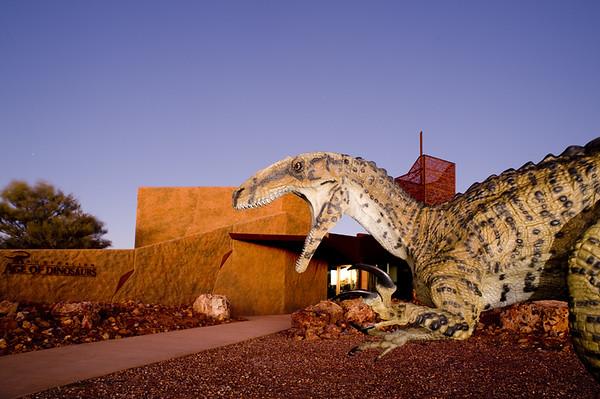 Australian Age of Dinosaurs Opening