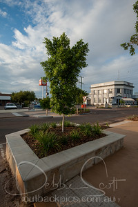 Longreach main street, near IGA
