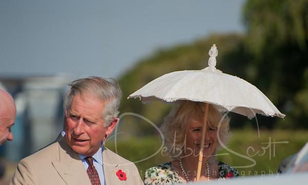 Royal Visit to Longreach 2012