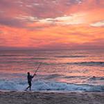 fisherman sunrise