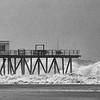 Hurricane Sandy Belmar Fsihing Pier