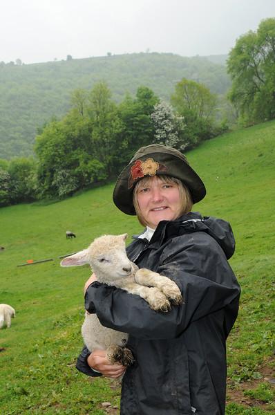 Shepherdess in Derbyshire shoot
