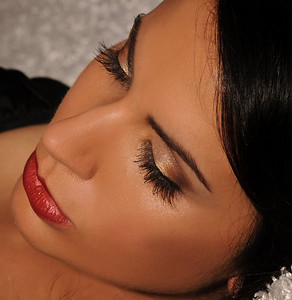 Amber, glamour shoot. Airbrush Makeup and Eyelash Extensions by Lara Toman of Empire Faces. Photography by Empire Faces