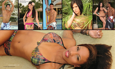 May 2010 Swimsuit Issue, Health & Fitness magazine. Airbrush Makeup by Lara Toman of Empire Faces.