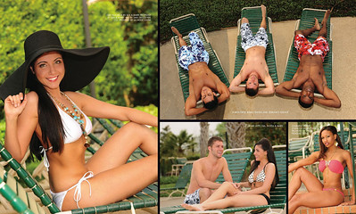 May 2010 Swimsuit Issue, Health & Fitness magazine. Airbrush Makeup by Lara Toman of Empire Faces. Photos by Doug Carter