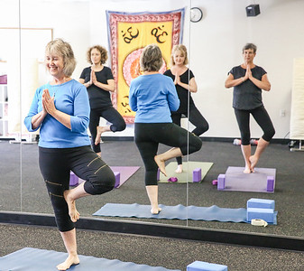 Yoga for all ages and levels, We have FUN
