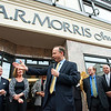AR Morris Wilmington store opening at 802N Market Street:  Governor Jack Markell speaking at the opening