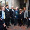 AR Morris Wilmington store opening at 802N Market Street;  Albert R Morris Jack Markell and his wife, Mayor James Baker, County Executive Chris Coons, etc.