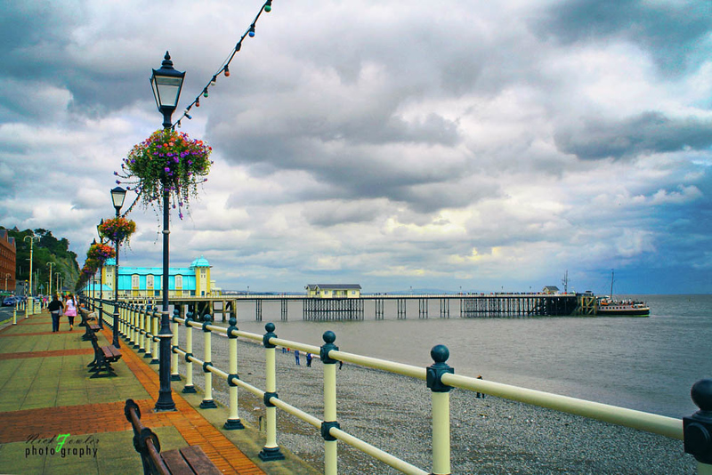 Penarth Pier near Cardiff