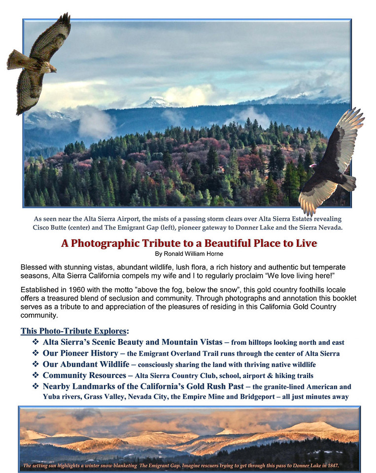 Alta Sierra Photo-Tribute Page 1