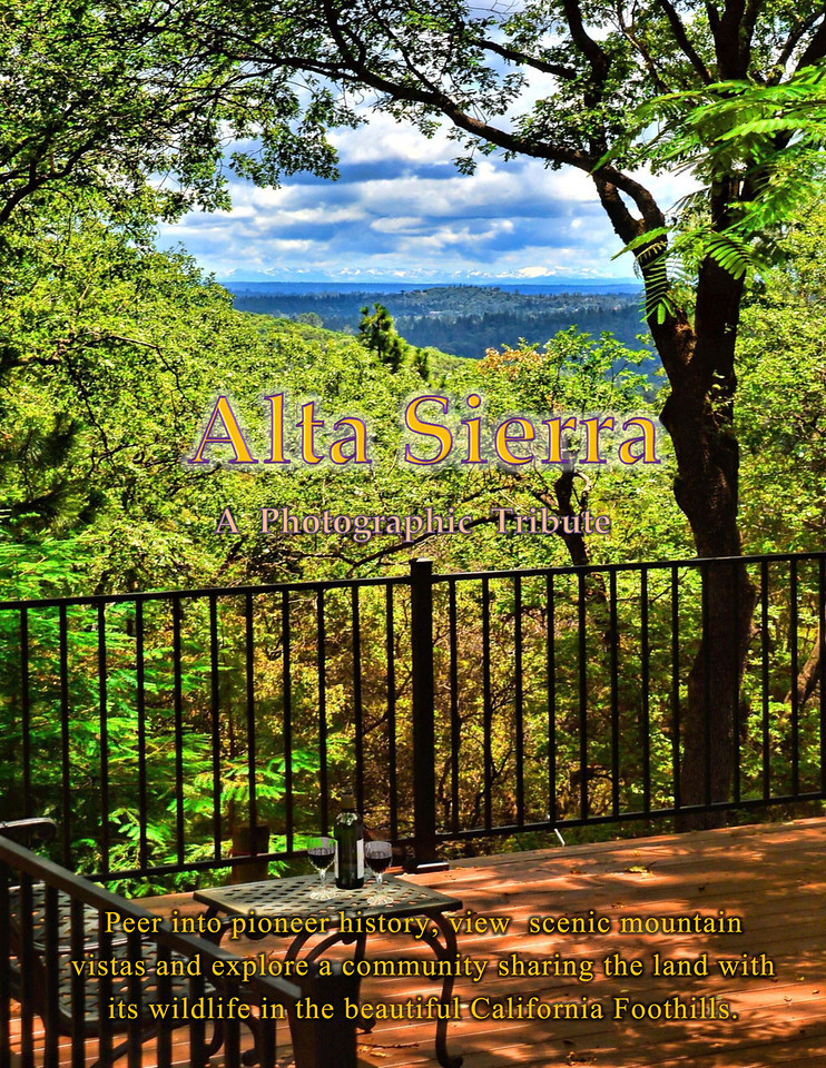 Back Cover of Alta SIerra Photo Tribute