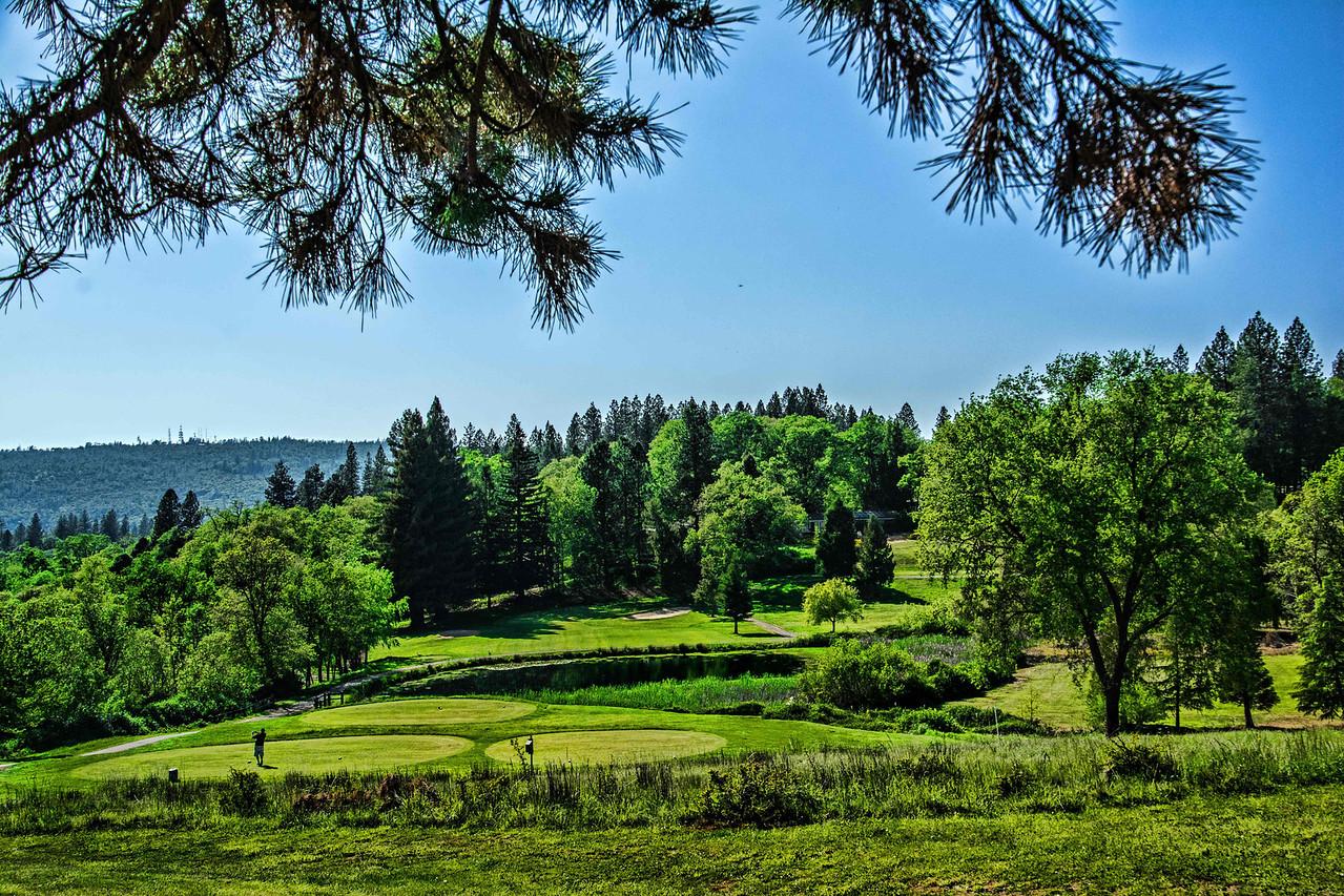 14th Hole,  Alta Sierra Country Club