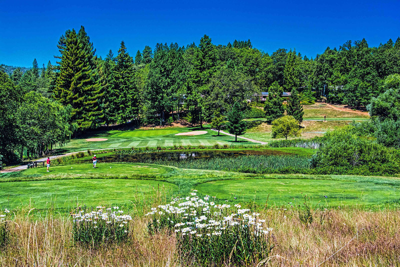 Alta Sierra Country Club's 14th Hole