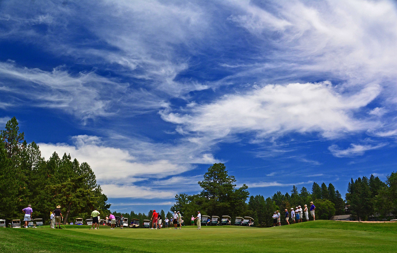 17th Hole, Alta Sierra Country Club - Mens Invitational 2013