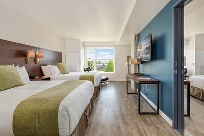 Absher Construction Hotel Interurban and Airmark Residence
