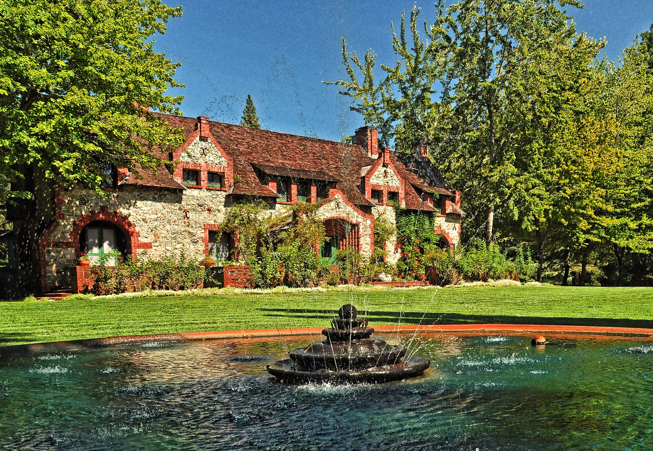 The Bourn Cottage, Empire Mine, Grass Valley, CA