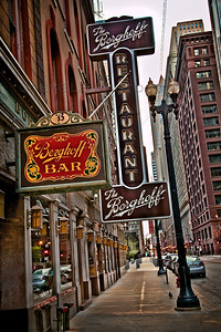 The Berghoff Restaurant and Bar, downtown Chicago