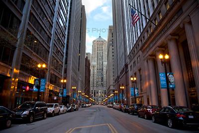 LaSalle Canyon in Chicago, Illinois