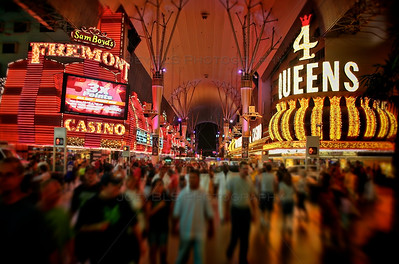 Fremont Street in downtown Las Vegas