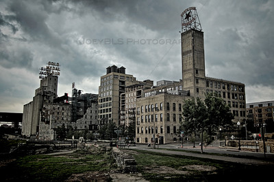 Historic Mill City Ruins in Downtown Minneapolis