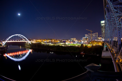 Nashville, Tennessee Ascend Amphitheater at Night