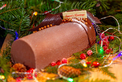 Bearfoot Bistro Yule Log