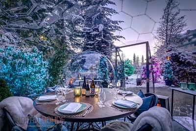 Fairmont Snowglobe Dining