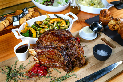 Bearfoot Bistro Take-Out  Menu-Beef Rib Roast