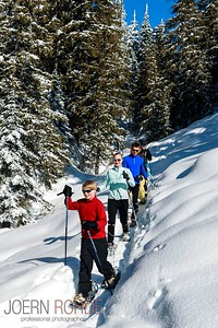 Callaghan Country Snowshoeing