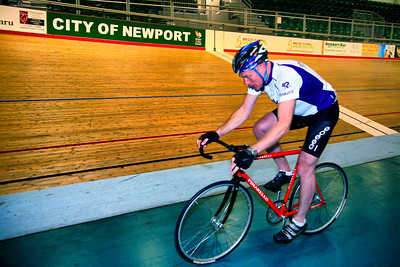 Corporate team building session at the Velodrome in Newport, Gwent. © Nick Fowler Photography