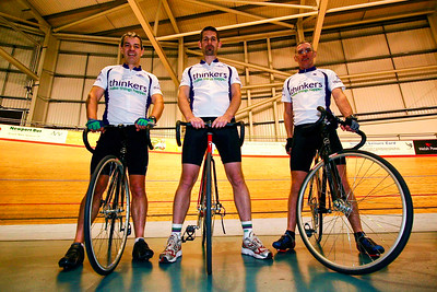 Commercial photography at the Velodrome in Newport, Gwent. © Nick Fowler Photography