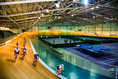 The Velodrome in Newport, Gwent. Business photographer Nick Fowler
