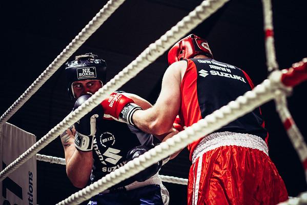 NZ Police vs NZ Fire (Charity Boxing Match)