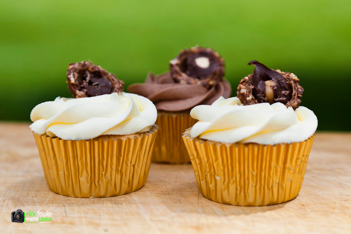 Cupcakes, food & drink photography by Nick Fowler 2