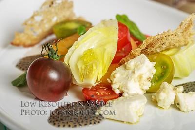 Bearfoot Bistro Diner en Blanc Menu